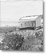 Old Lifeboat Station Tenby Metal Print