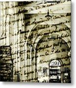Old Mahon Town Market Metal Print