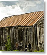 Old Maine Barn Metal Print