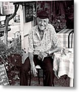 Old Man Of Old Town Metal Print