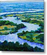 Old Man River Metal Print