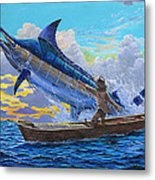 Old Man And The Sea Off00133 Metal Print