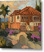 Old Mansion Costa Del Sol Metal Print