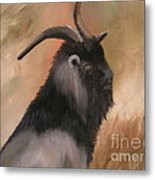 old Mcdonalds Goat Metal Print by Sharon Burger