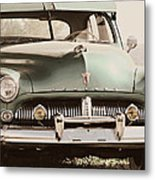 Old Mercury Tinted Metal Print