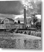 Old Mill And Banquet Hall Metal Print
