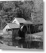 Virginia's Old Mill Metal Print