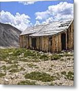 Old Mining House Metal Print by Aaron Spong