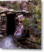 Old Minor's Cabin Metal Print