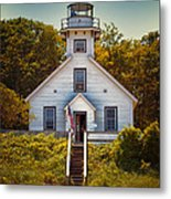 Old Mission Point Light House 02 Metal Print