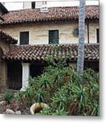 Old Mission Santa Barbara Metal Print