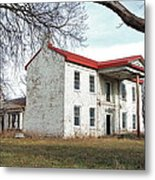 Old Missouri Mansion Metal Print