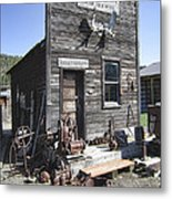Old Molson Ghost Town Assay Office Metal Print