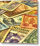 Old Money Metal Print