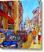 Old Montreal Metal Print