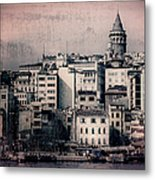 Old New District Metal Print