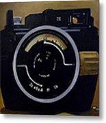 Old Nikon Metal Print