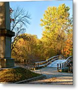 Old North Bridge Metal Print by Brian Jannsen