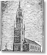 Old North Church, 1775 Metal Print