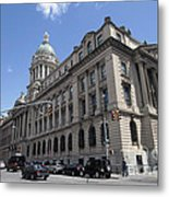 Old Nypd Headquarters Metal Print