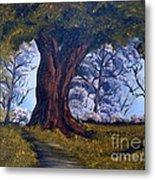Old Oak Tree Metal Print