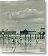 Old Orchard Beach Maine Metal Print