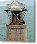 Old Overseas Hgwy Bridge 2 Metal Print