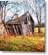 Old Ozark Home Metal Print