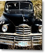Old Packard Metal Print