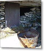 Old Pail Metal Print