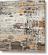 Old Painted Wood Abstract No.1 Metal Print by Elena Elisseeva