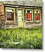 Old Park Motel Metal Print