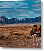 Old Pickup Metal Print