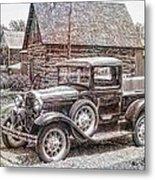 Old Pickup Truck Metal Print