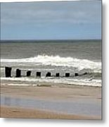 Old Pilings Metal Print