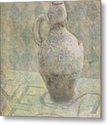 Old Pitcher Abstract Metal Print