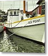 Old Point St. Michaels Metal Print