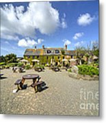 Old Portelet Inn  Metal Print