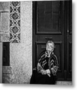 Old Portuguese Woman Metal Print