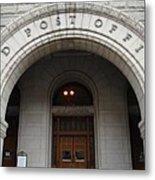 Old Post Office In D.c. Metal Print