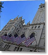 The Old Post Office Or Trump Tower Metal Print