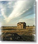 Old Prairie Homestead Metal Print