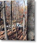 Old Rag Hiking Trail - 12126 Metal Print