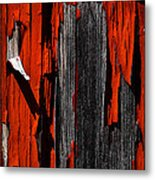 Old Red Barn Two 2 Metal Print