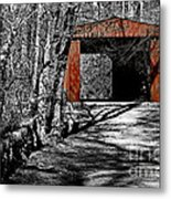 Old Red Bridge Metal Print