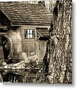 Old Red Mill Metal Print