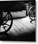 Old Rims  Metal Print