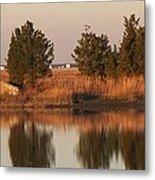 Old Roads And Bridges South Jersey Metal Print