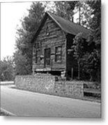 Old Rustic Cabin Metal Print