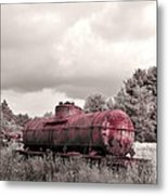 Old Rusty Tanker  2 Metal Print